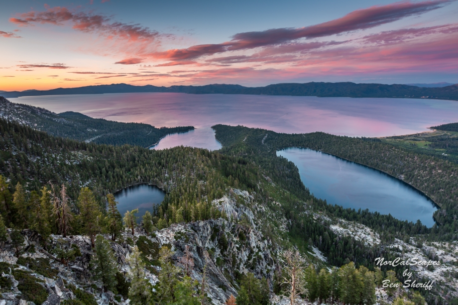 Maggies Peak Sunset ~ Lake Tahoe